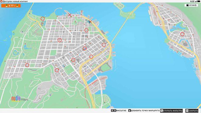 watch dogs 2 карта с местонахождением гномов