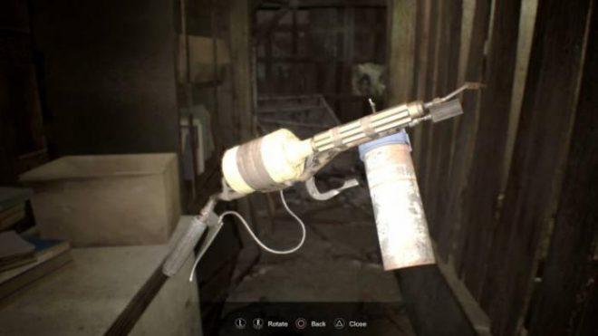 Resident Evil 7 где найти огнемет