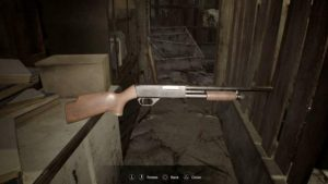 Resident Evil 7 дробовик все оружие