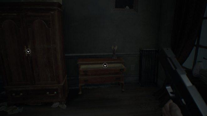 Resident Evil 7 древние монеты главный дом