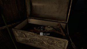 Resident Evil 7 где найти ключ с вороной