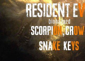 Resident Evil 7 ключи от дверей