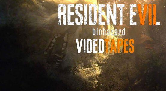 Resident Evil 7 видеокассеты