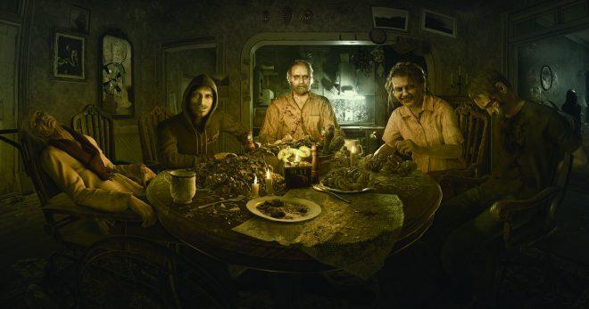 Resident Evil 7 бейкеры