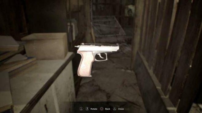 Resident Evil 7 все пистолеты как найти