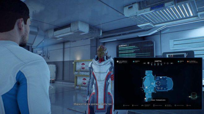 Карте где найти квест Первого Убийцы в Mass Effect: Andromeda