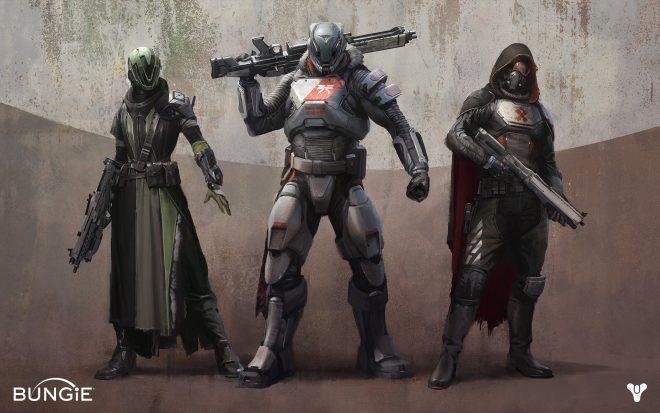 Гайд по классам Destiny 2