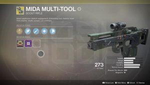 Где найти Универсальный инструмент MIDA destiny 2