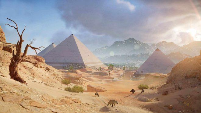 Assassin Creed Origins местонахождение Пирамид