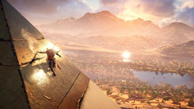 Assassis's Creed Origins Пирамиды Исследования