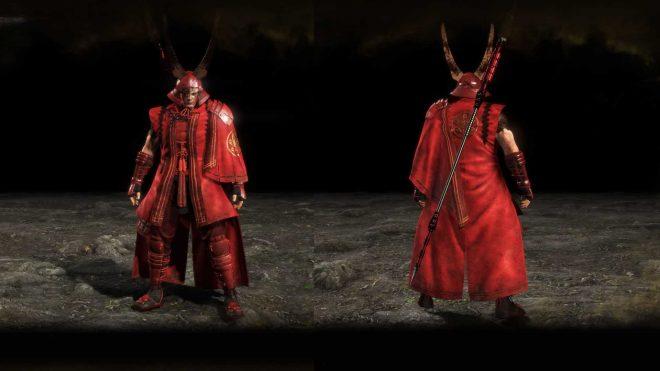 Броня Красного демона Ии вид
