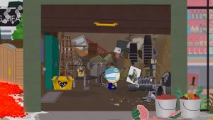 South Park Fractured But Whole гараж кенни яой