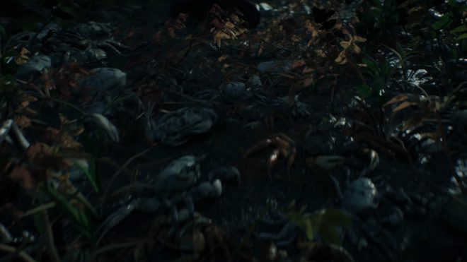 Death Stranding мертвые крабы
