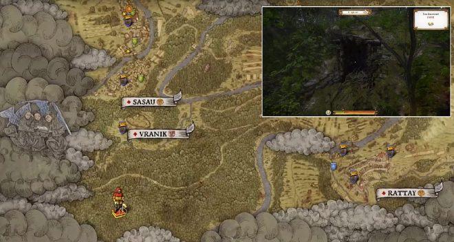 Kingdom Come: Deliverance карта сокровищ 2