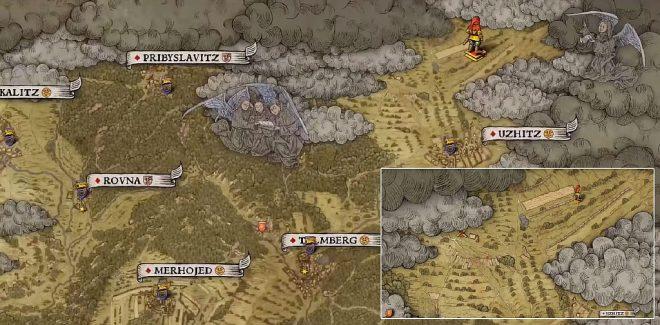 Kingdom Come: Deliverance карта сокровищ 3