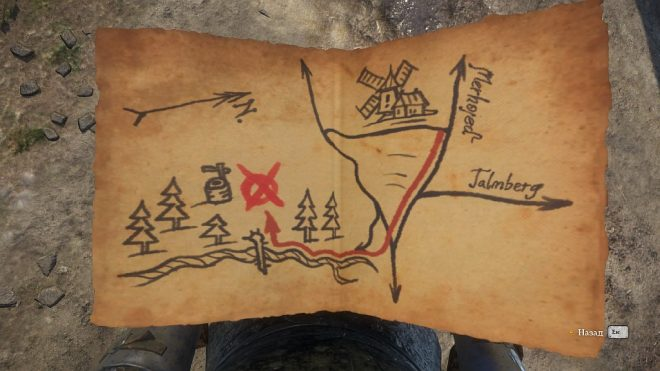 Kingdom Come: Deliverance карты сокровищ