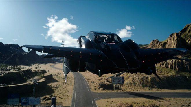 Final fantasy 15 как сделать летающую машину