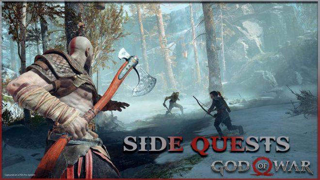 Дополнительные квесты в God of War прохождения