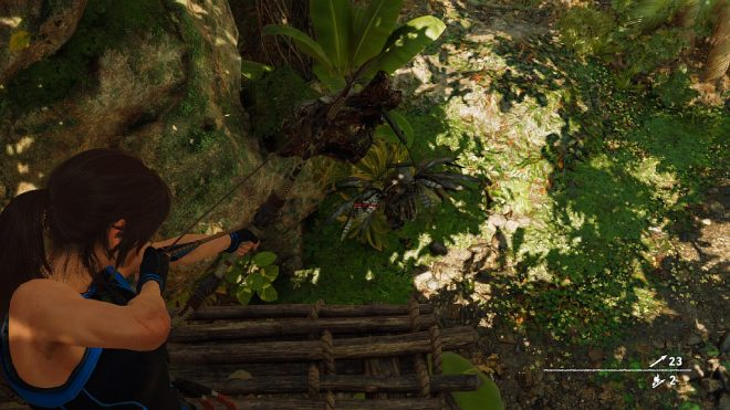 Shadow of the Tomb Raider nam deus