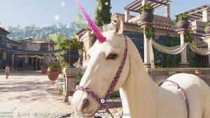 Assassin's Creed Odyssey единорог