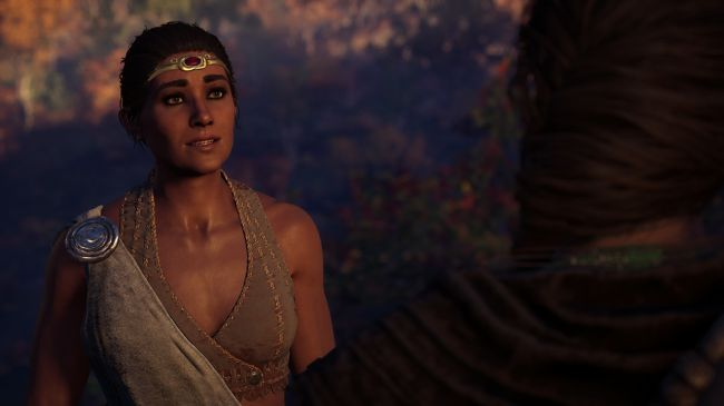 Assassin's Creed Odyssey дафна роман