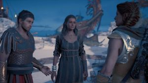 Assassin's Creed Odyssey фалет кира роман